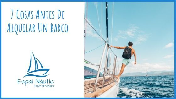 alquilar barco